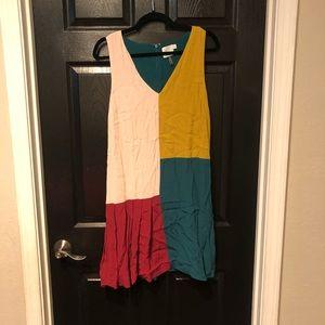 hd in paris color block dress